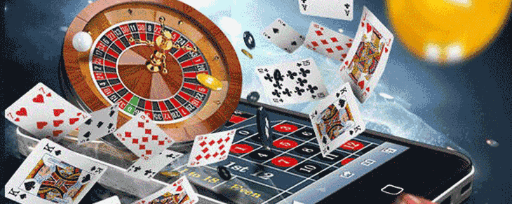 Playing online casinos from a mobile device